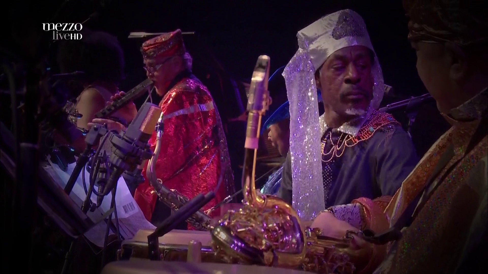2015 Sun Ra - On Stage With Ra At Banlieues Bleues [HDTV 1080i] 4