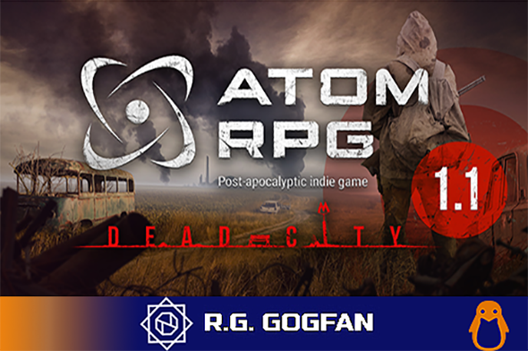 ATOM RPG: Post-apocalyptic indie game (AtomTeam) (ENG|RUS) [DL|GOG] / [Linux]