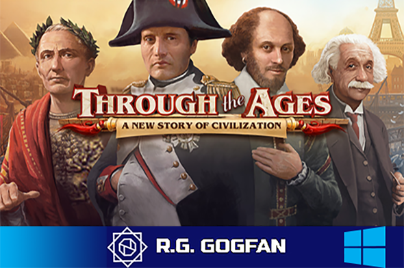 Through the Ages (CGE Digital) (ENG RUS MULTI14) [DL GOG] / [Windows]