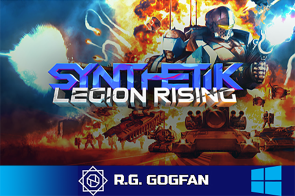 SYNTHETIK: Legion Rising (Flow Fire Games) (ENG|RUS|MULTI10) [DL|GOG] / [Windows]