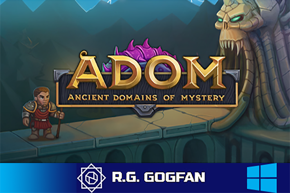ADOM Ancient Domains Of Mystery (Thomas Biskup) (ENG) [DL|GOG] / [Windows]