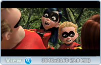 Суперсемейка / The Incredibles (2004) | UltraHD 4K 2160p
